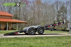 hydraulic car trailer