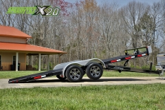 hydraulic car trailer