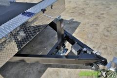 auto tilting trailer